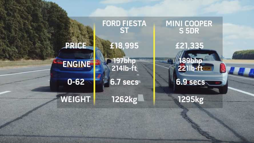 Ford Fiesta ST vs. Mini Cooper S 5-Door