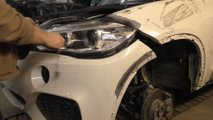 bmw x5 body repair video