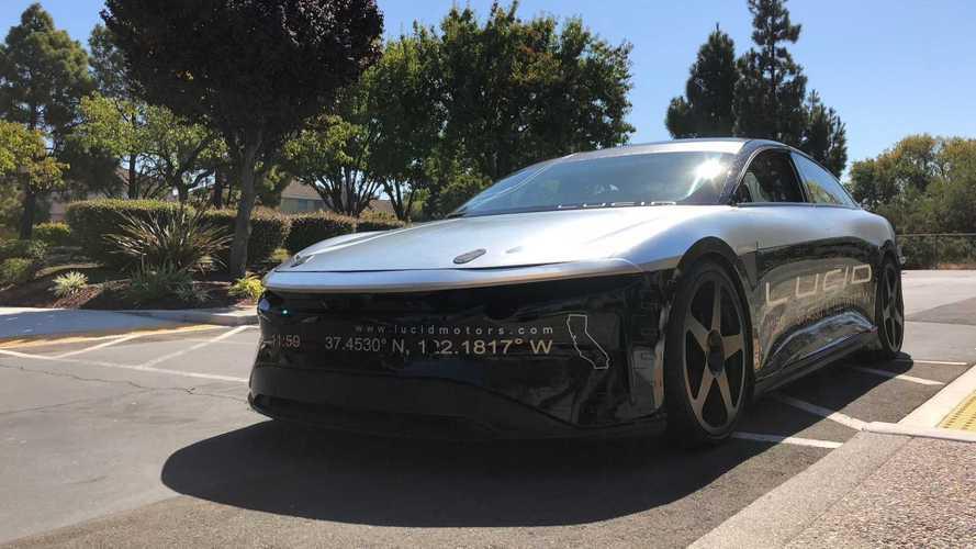 Lucid Air, l'anti Tesla Model S debutta il 9 settembre