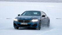 BMW 8-Series Gran Coupe Spy Photos