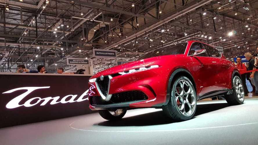 Alfa Romeo Tonale Concept, il SUV compatto ibrido plug-in