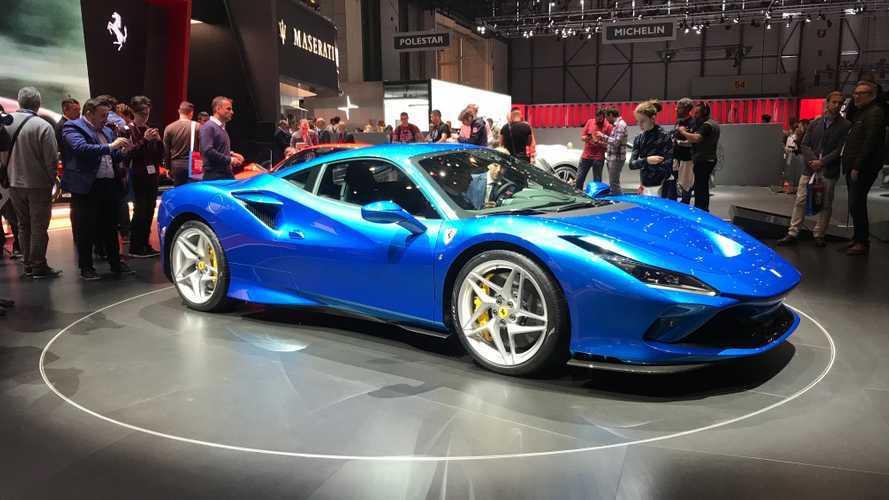 """Ferrari F8 Tributo, dal vivo a Ginevra è ancora più """"hot"""""""