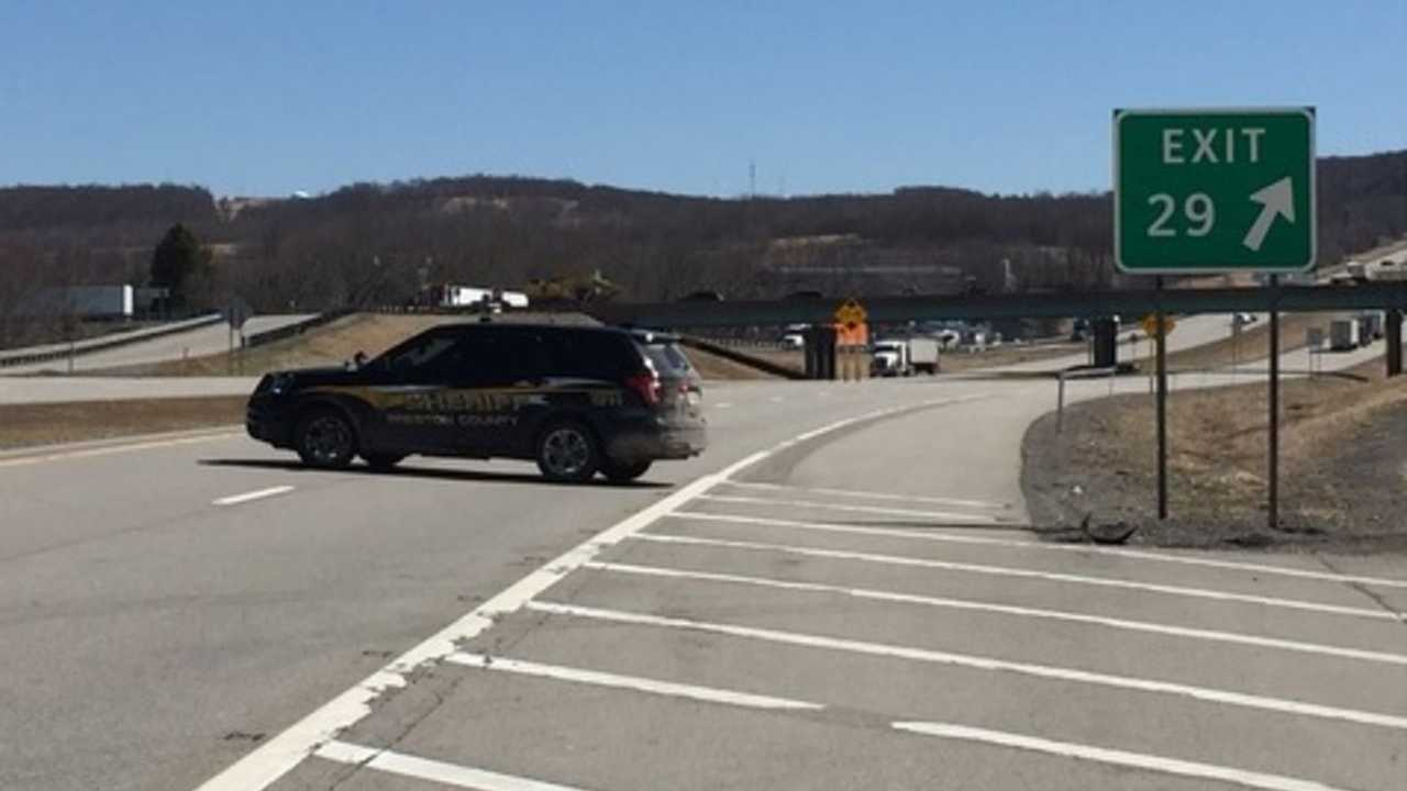 I-68 In West Virginia Shut Down