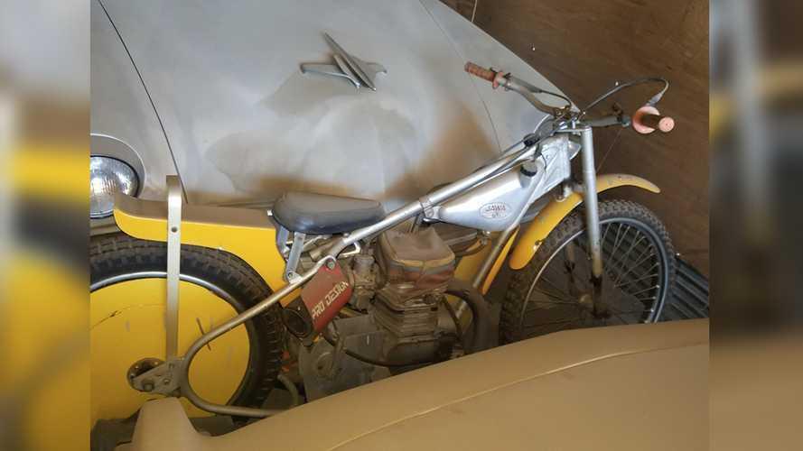 1977 Jawa 500 Speedway DT-894 barn find