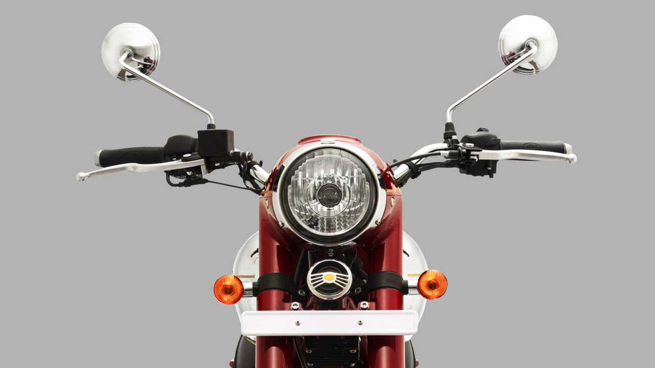 Jawa Headlight