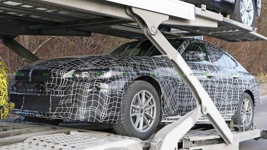 Primeras imágenes del BMW i4 2020, bastante camuflado