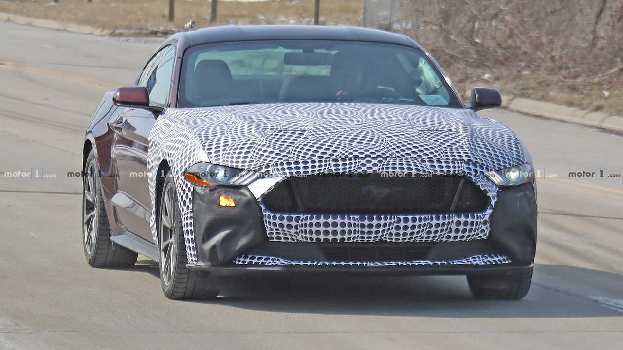Ford Mustang Hybrid Possible Test Mule