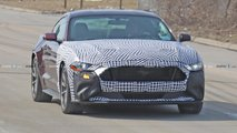Possible Ford Mustang Hybrid Mule Spy Photos