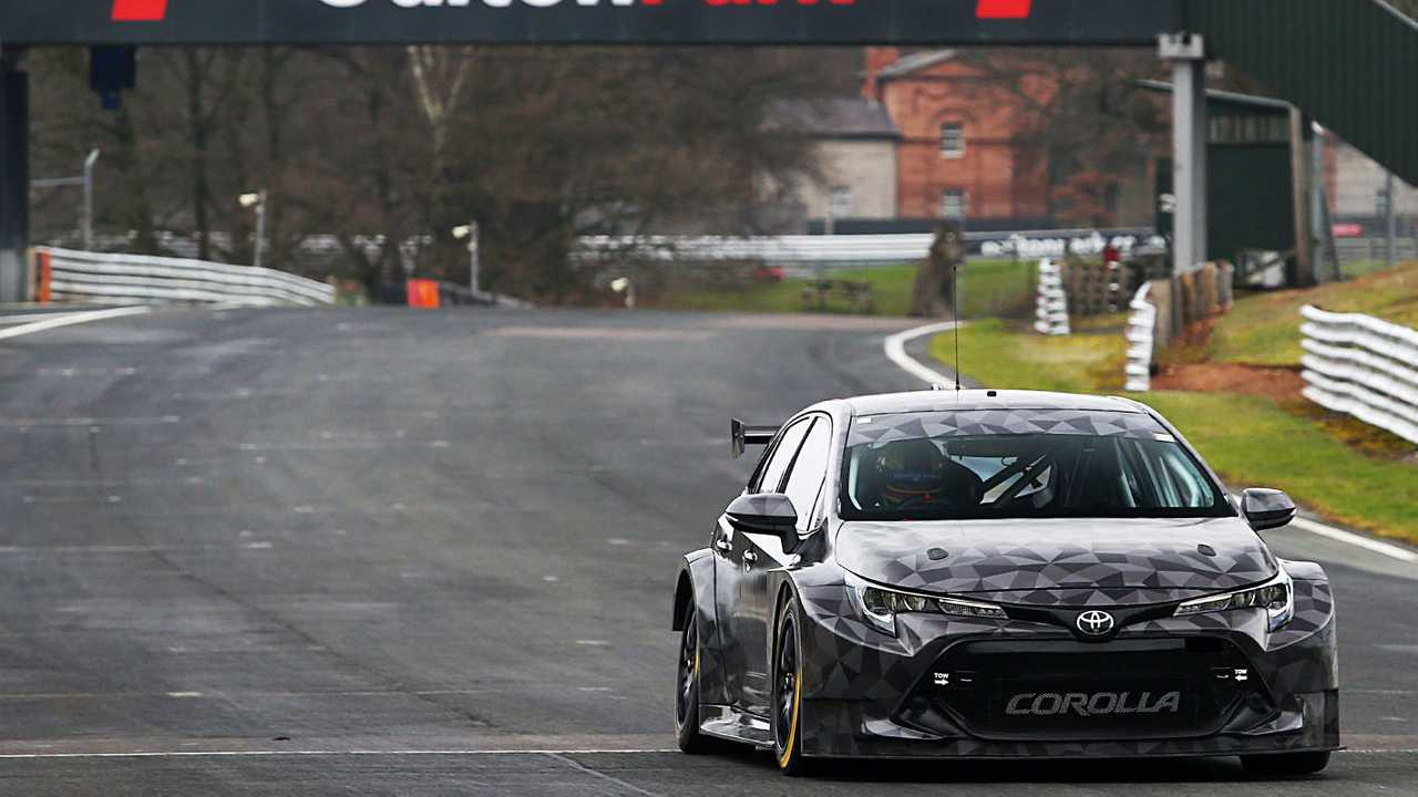 Team Toyota GB Corolla