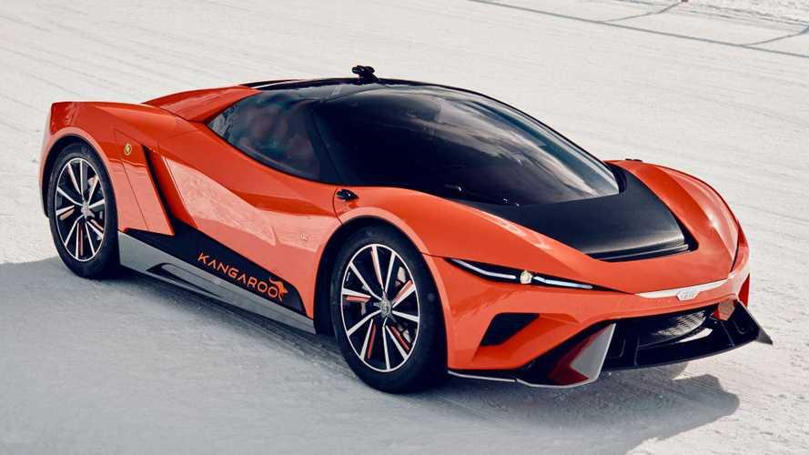 Der GFG Style Kangaroo ist ein elektrisches Crossover-Supercar