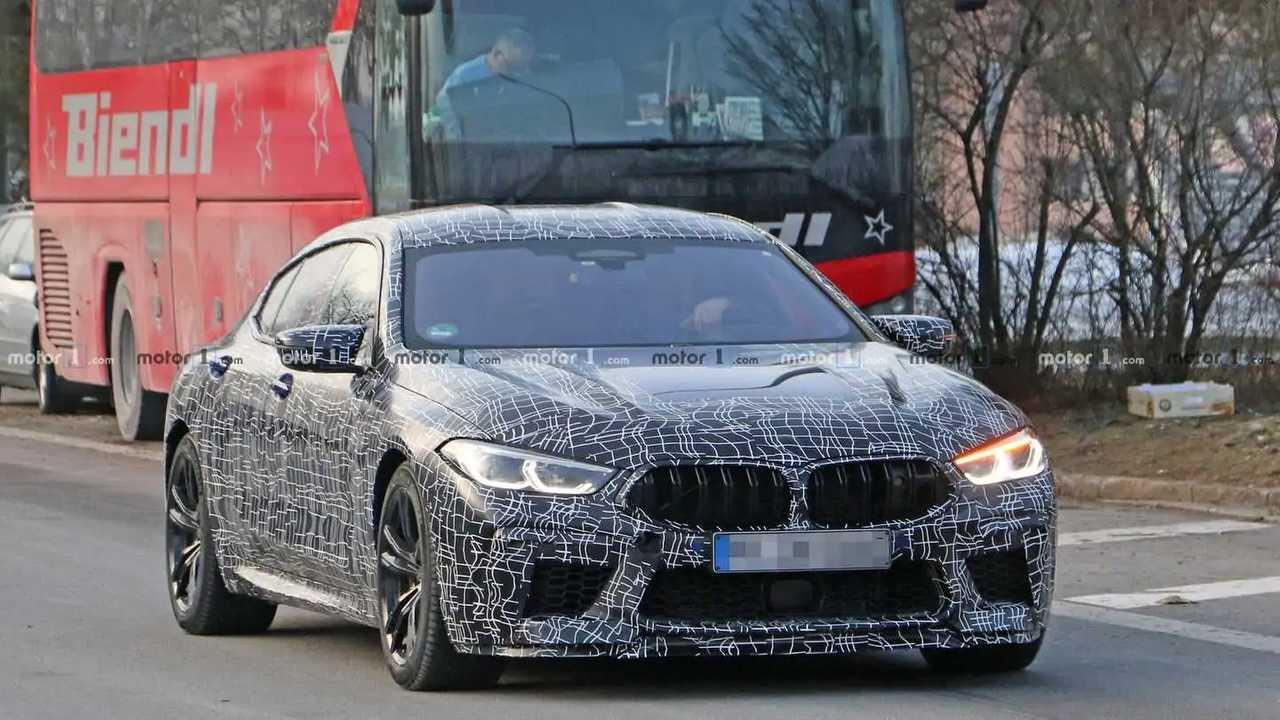 Photo espion BMW M8 Gran Coupe