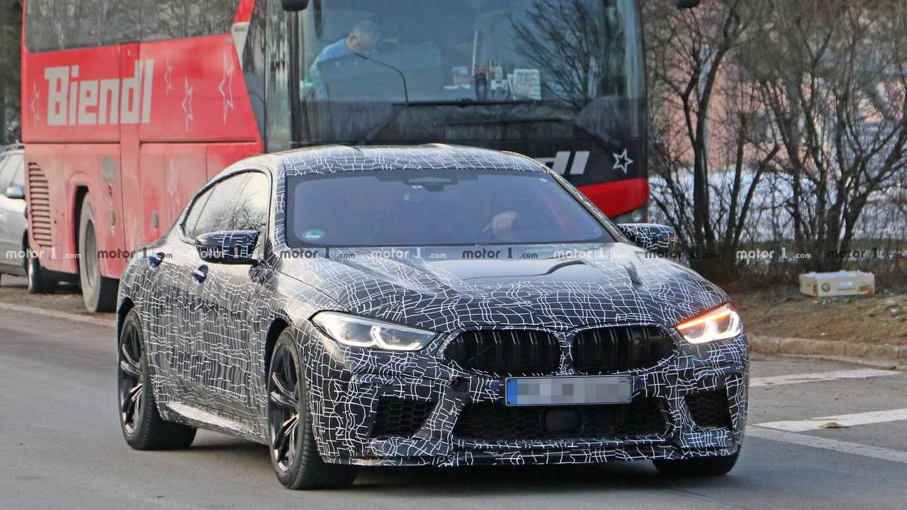 BMW M8 Gran Coupe - Flagra