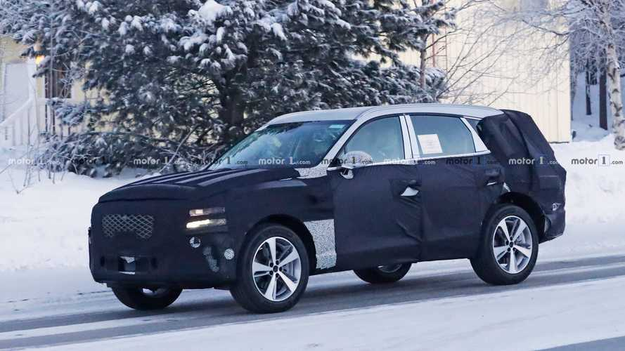 Genesis GV80 Luxury SUV Spied Testing For The First Time [UPDATE]