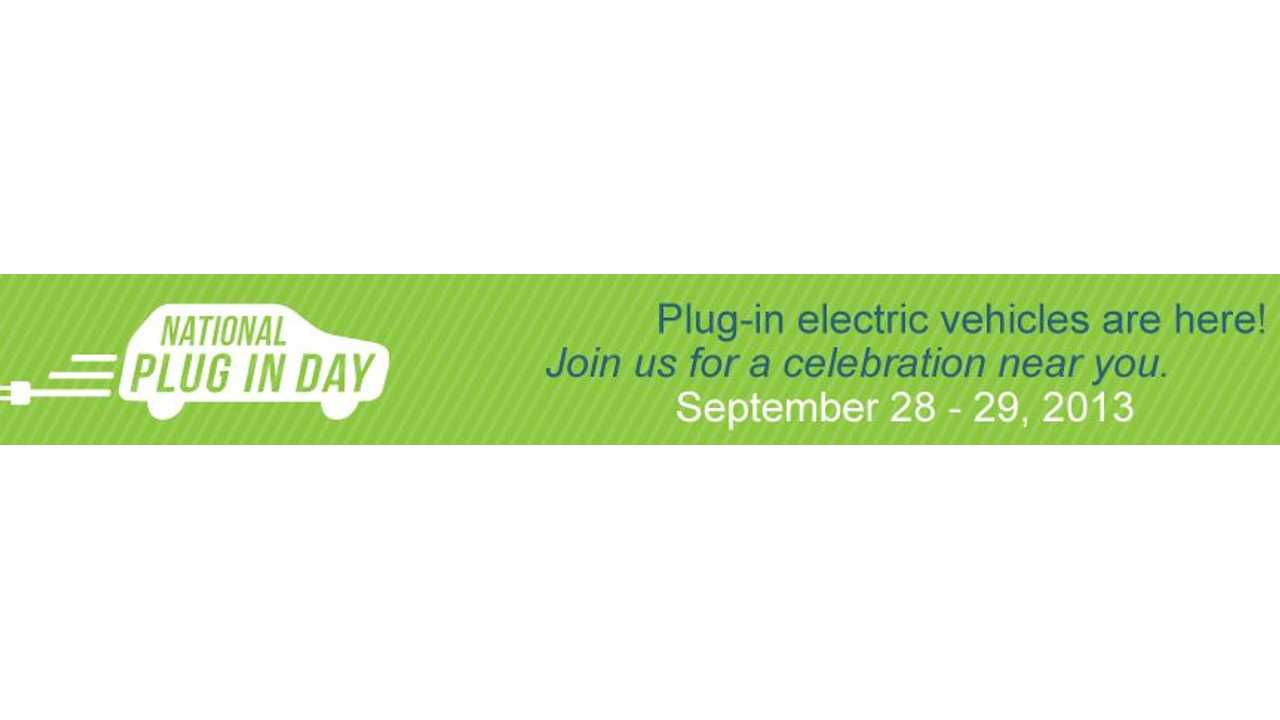 National Plug In Day Now Includes 95 Cities; Here's Your City-by-City Rundown of Plug In Day (September 28 - 29) Events