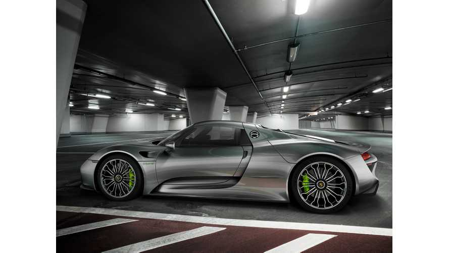 Porsche 918 Spyder Officially Enters Production