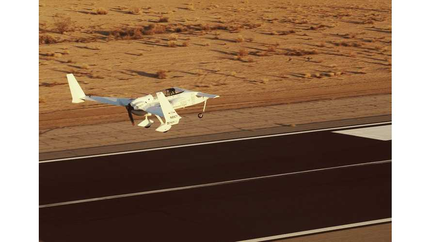 Chip Yates to Attempt to Set 5 World Records In Long-ESA Electric Plane