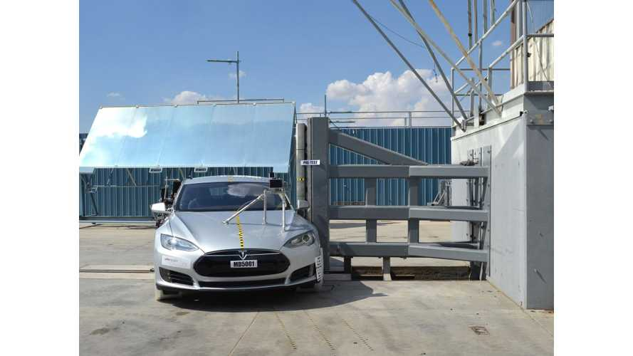 Which Vehicle is Closest to Tesla Model S in Overall Safety?