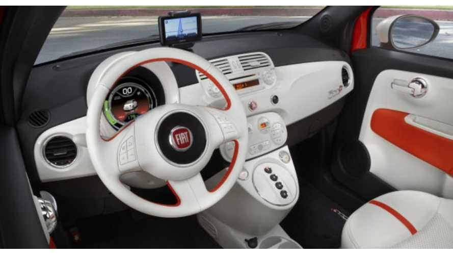 CNET Rips on Fiat 500e for Disappointing TomTom Navigation, But is Otherwise Pleased With Electric 500