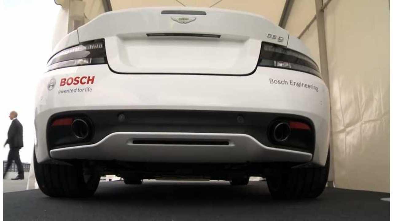 Aston Martin Debuts Plug-In Hybrid DB9 (video + pics)