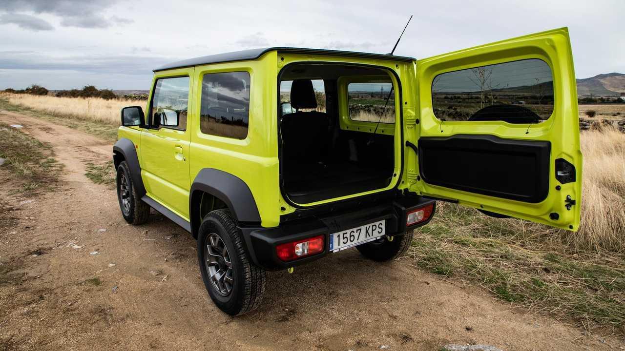 Prueba Suzuki Jimny 2019