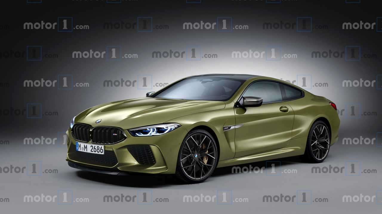 Illustration, BMW M8