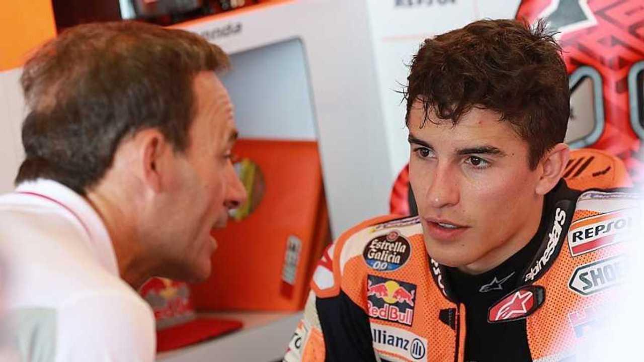 Marc Márquez y Alberto Puig, Honda MotoGP