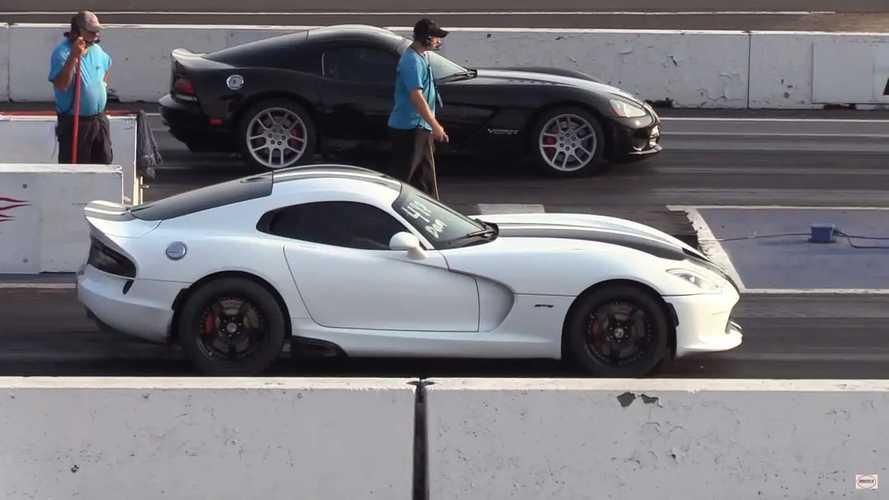 VIDEO - Deux Dodge Viper de générations différentes s'affrontent