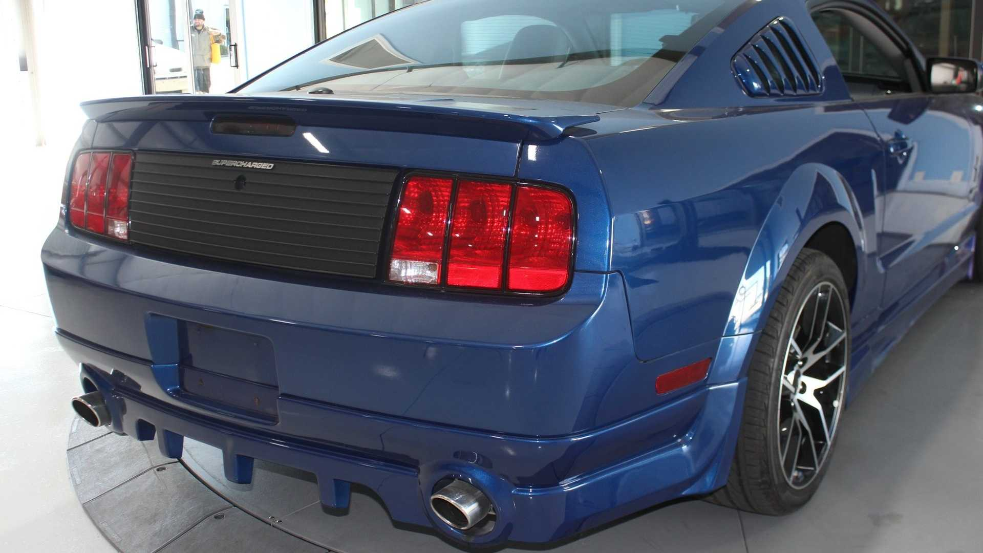 """[""""2007 Ford Mustang S197 Supercharged""""]"""