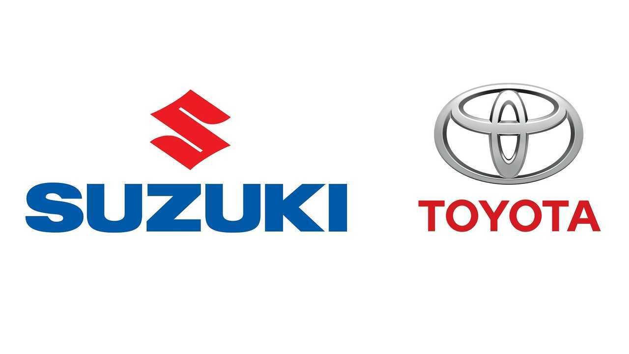 Toyota and Suzuki logos