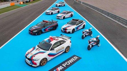 Слайд-шоу: 20-летие автомобилей безопасности BMW в MotoGP