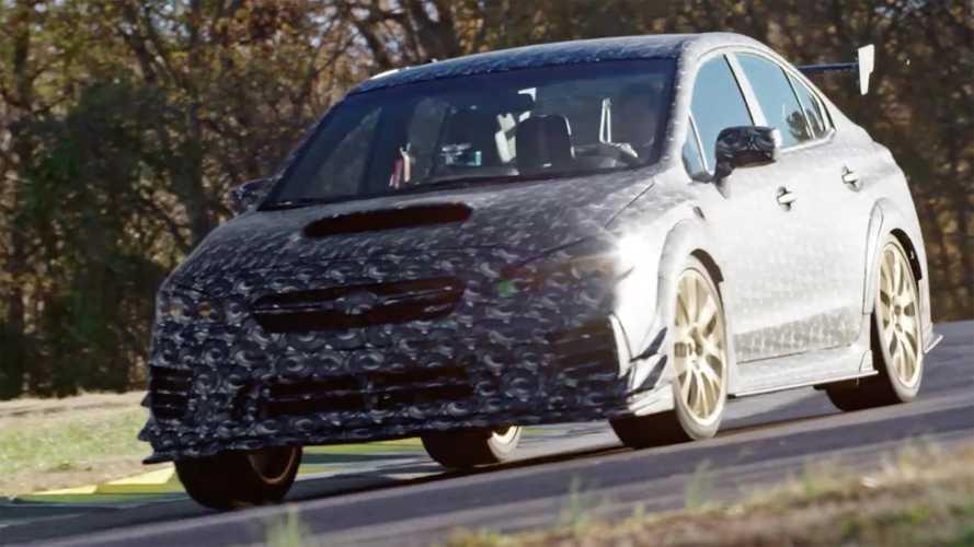 Subaru анонсировала особую WRX STI Special Edition для Детройта