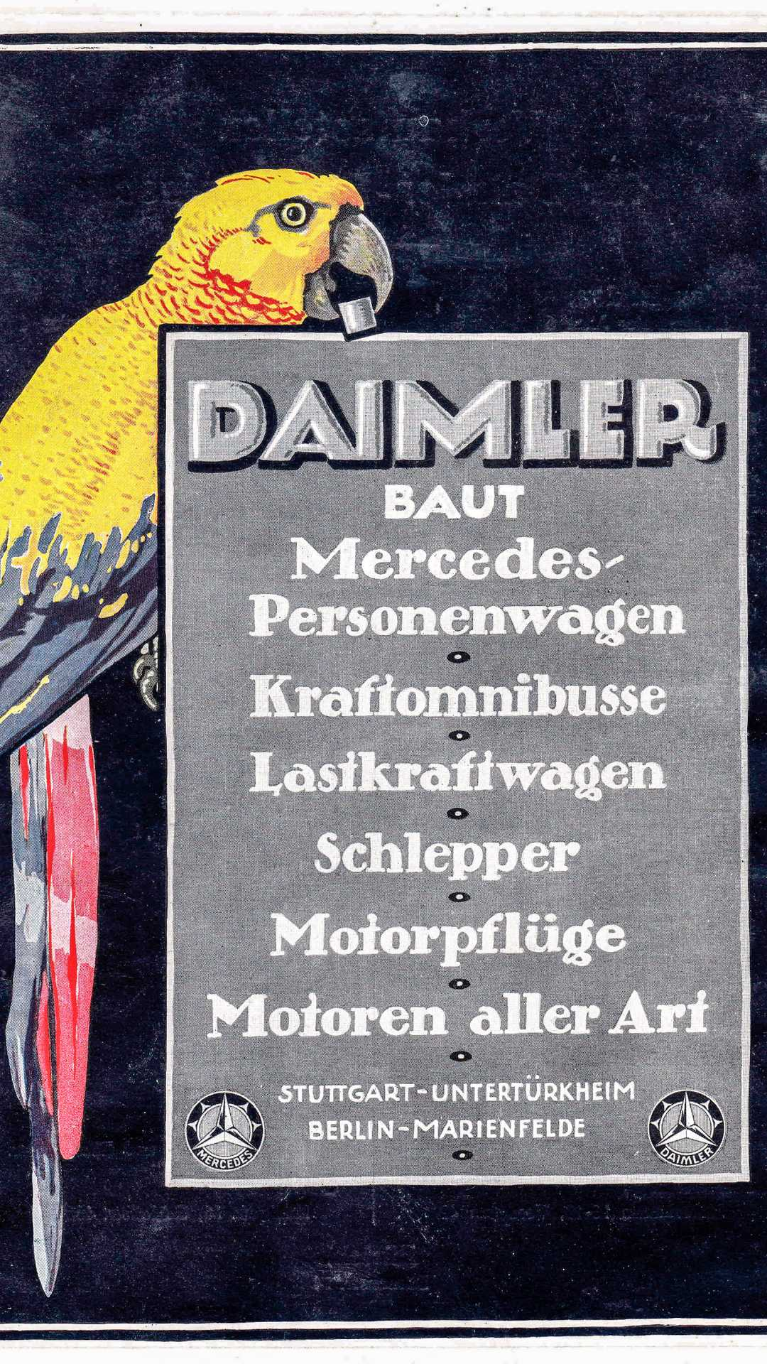 """[""""One Hundred Years Of Mercedes-Benz Customer Magazines""""]"""