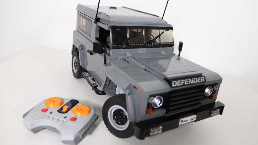 Este Land Rover Defender de Lego es el regalo ideal