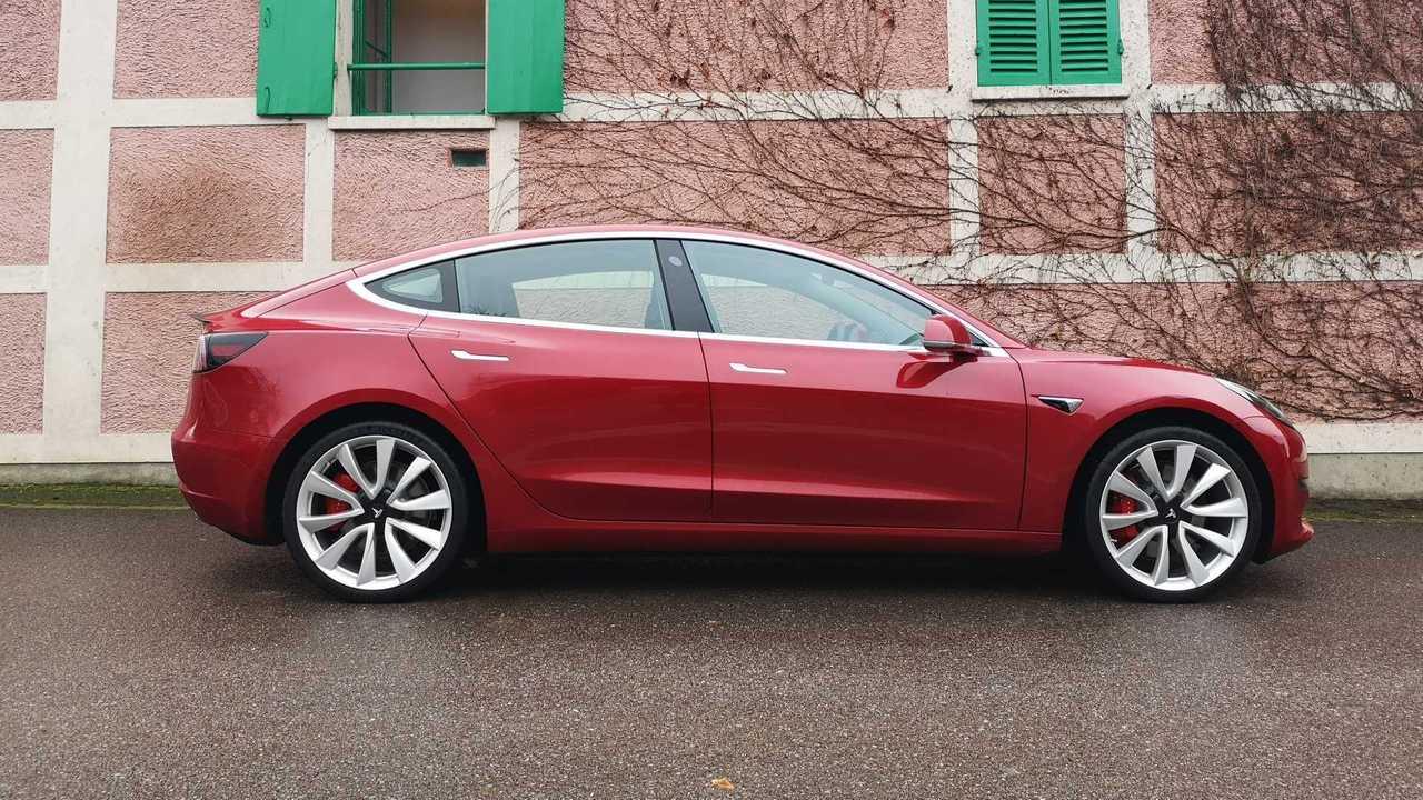Tesla Model 3 Performance Trial