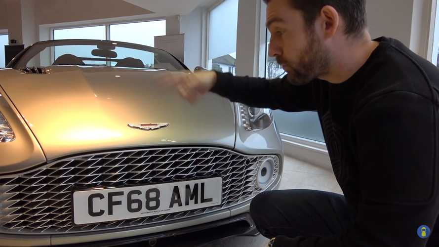 Aston Martin Vanquish Zagato grille is a £30,000 option