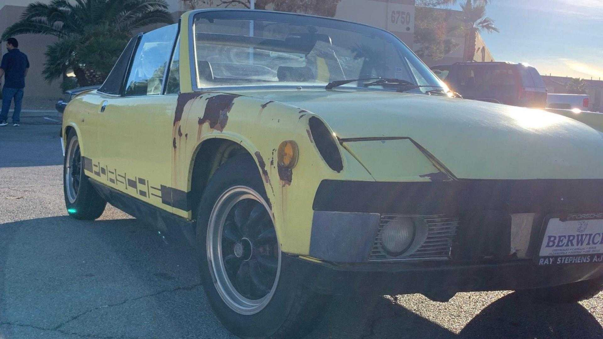 "[""Pair of No Reserve Porsche 914s Looking for a New Home""]"