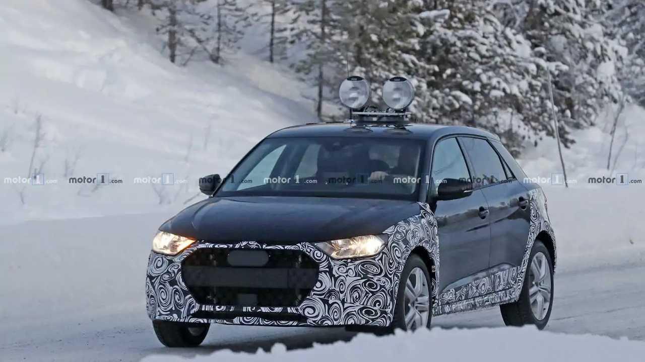 Audi A1 Allroad spy photo