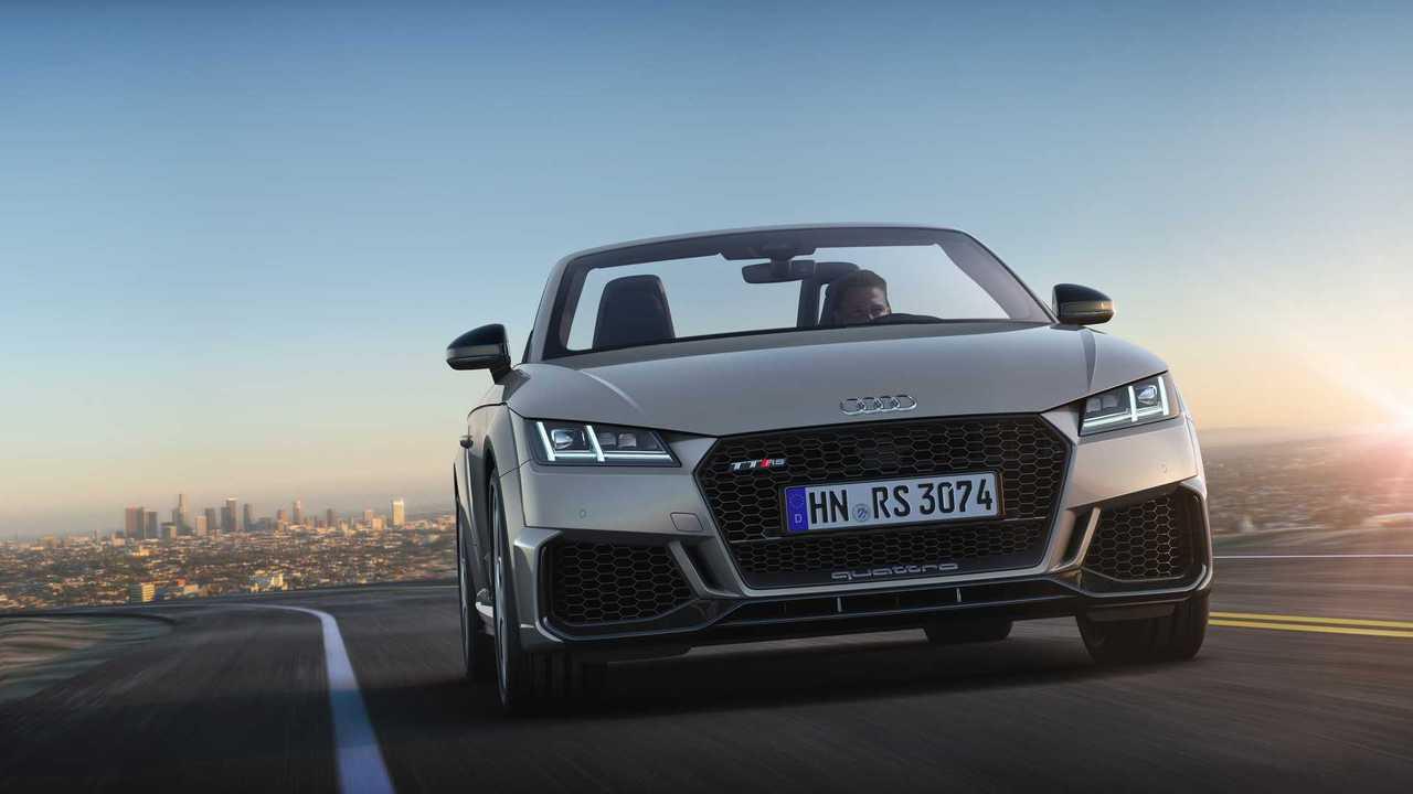 Audi TTRS Coupé y Roadster 2019