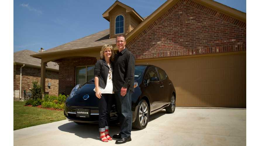 50,000th Nissan LEAF Delivered In US