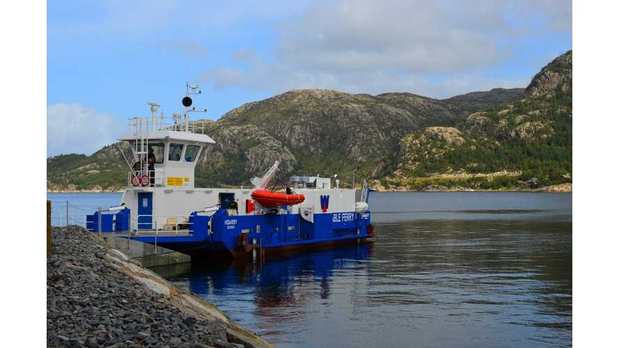 Battery Electric Ferry Successfully Completes 6 Months of Winter Tests in Norway