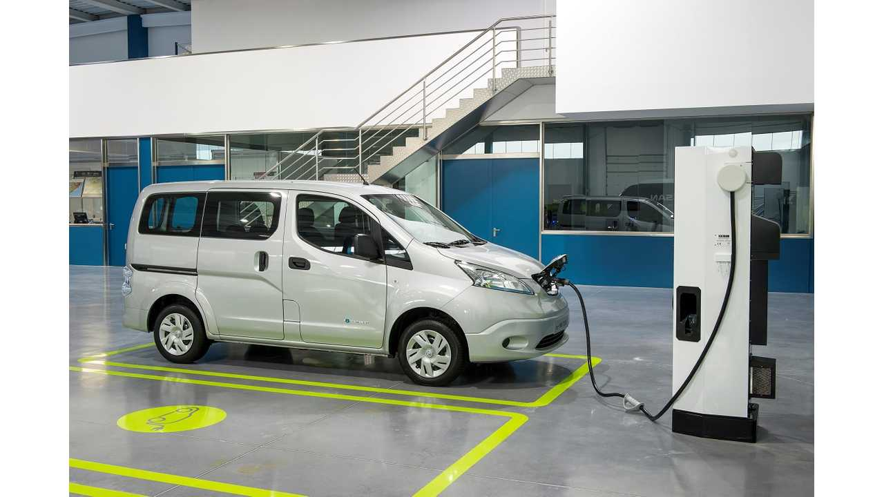 In Upper Normandy, Nissan e-NV200 Starts At €6,890 ($9,550 USD) Without Battery