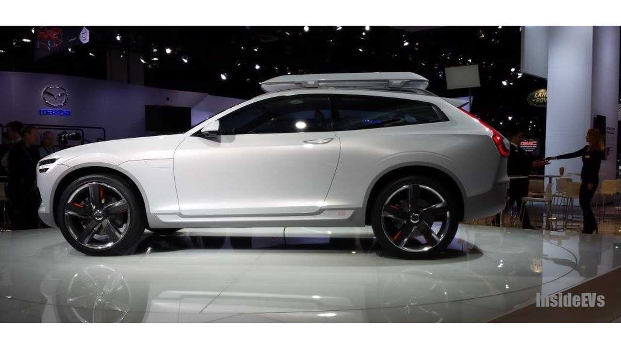 Volvo Xc Concept At 2017 Naias Production Xc90 Will Be Significantly Larger
