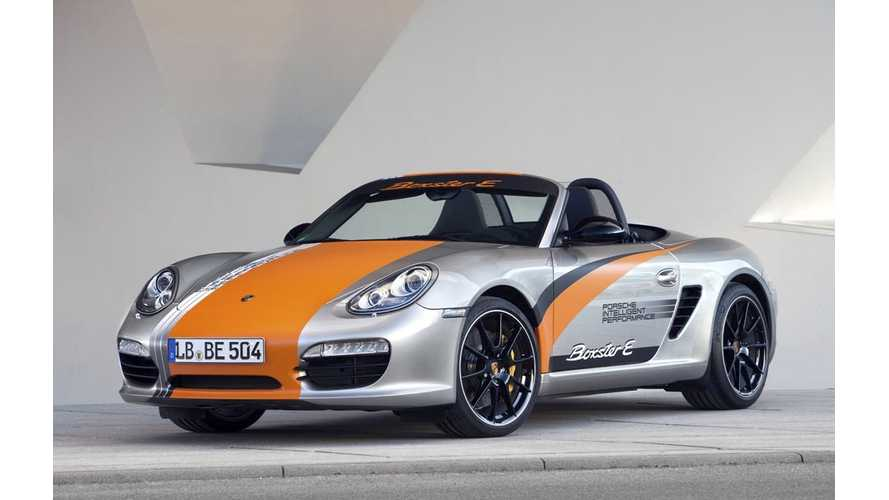 Porsche CEO: Our Pure Electric Vehicle Needs At Least 300 Kilometers of Range