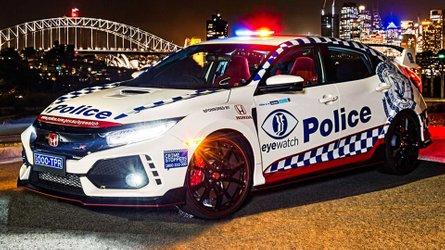 Die australische Polizei fährt jetzt Honda Civic Type R