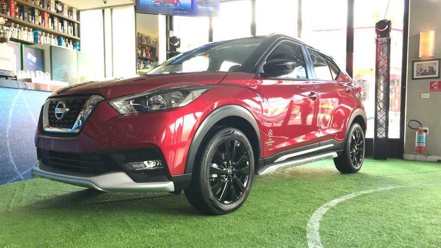 Nissan Kicks UEFA Champions League chega às lojas por R$ 95.290
