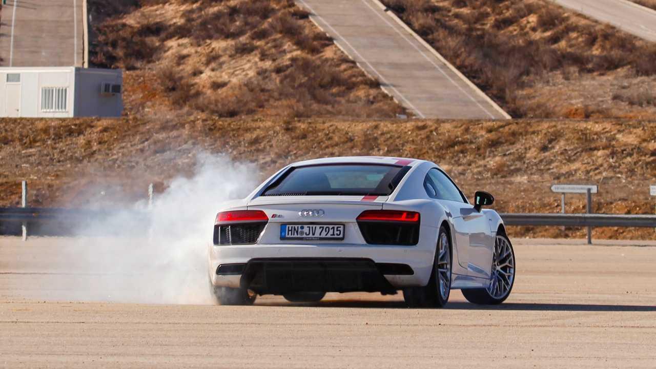 Essai, Audi R8 RWS