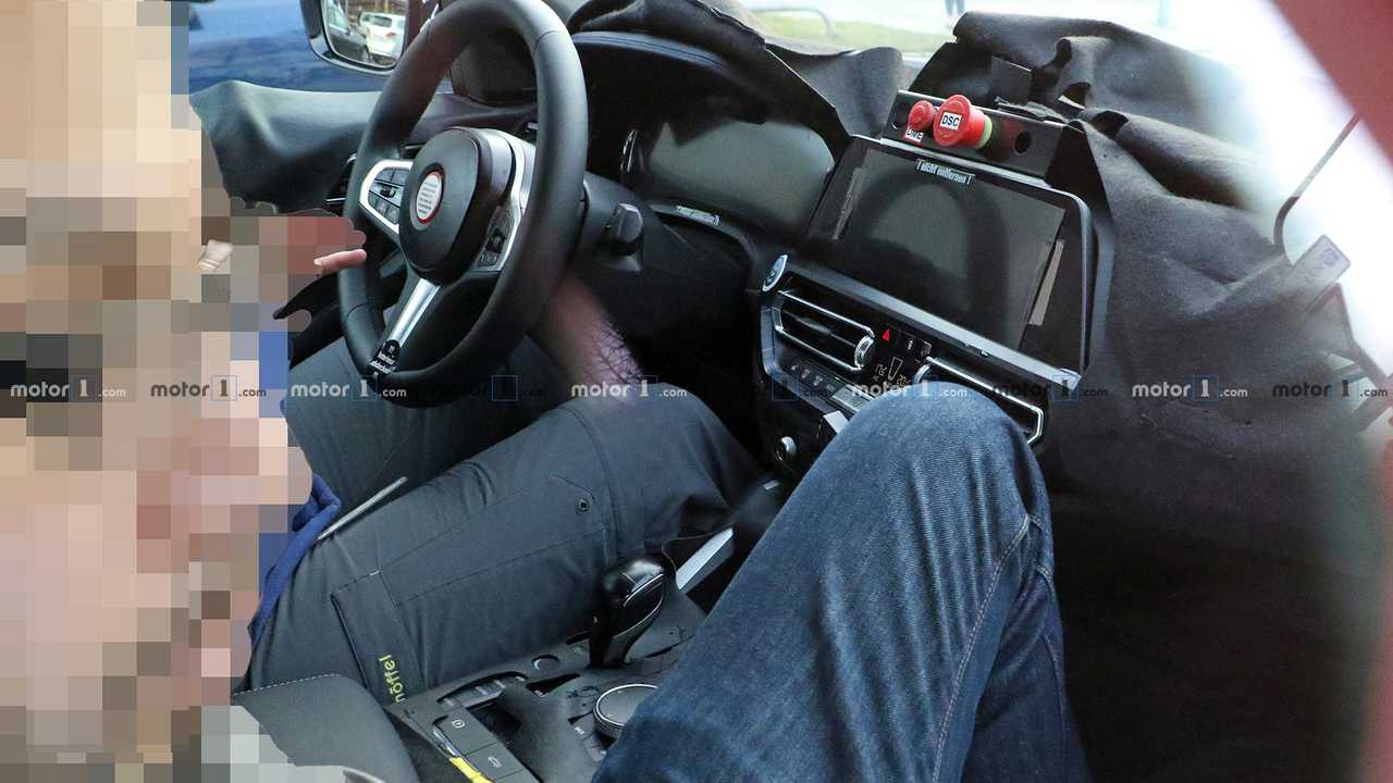 BMW 4 Series Convertible Spy Shots