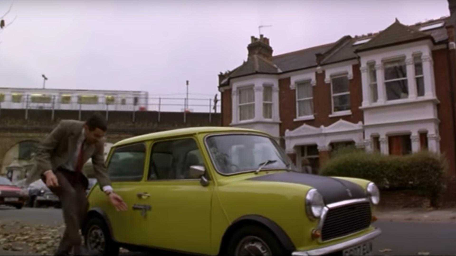 "[""The deleted footage of Mr Bean's Mini""]"