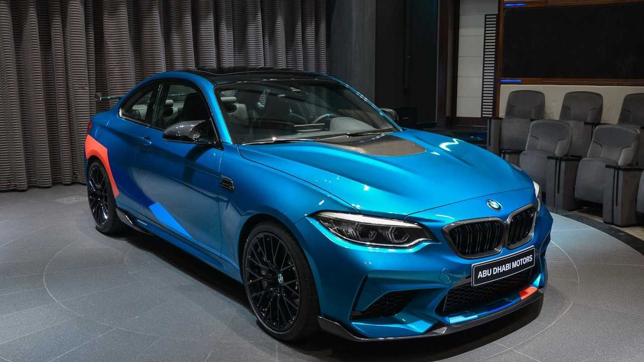 bmw m2 competition long beach blue 4 of 20