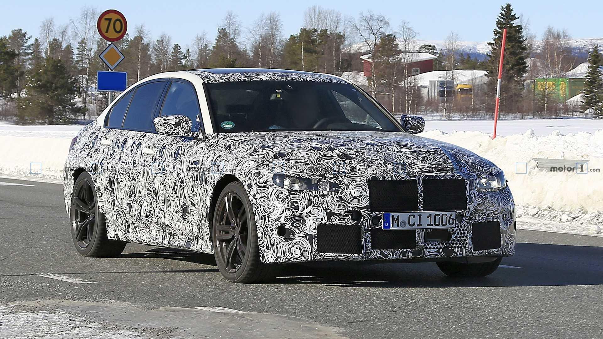 2020 - [BMW] M3/M4 - Page 3 2021-bmw-m3-spy-photo